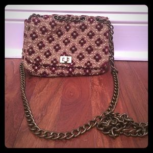 Vintage style purse- perfect for Holiday Parties!
